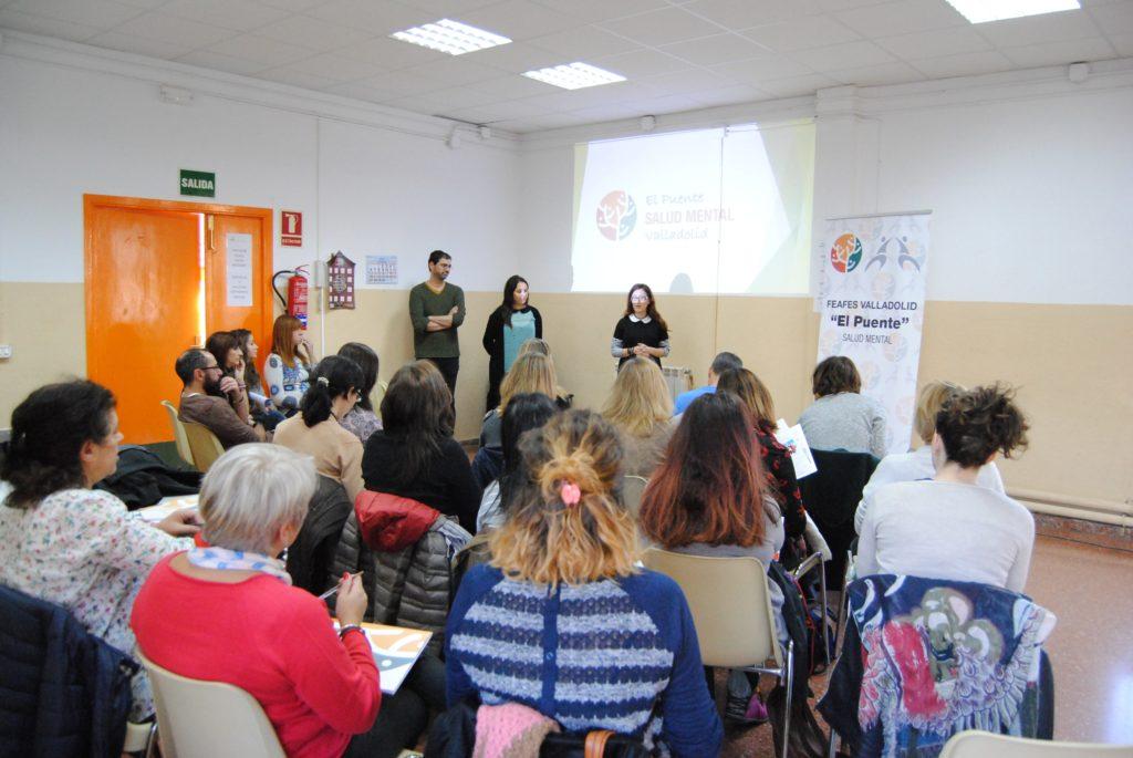 Visita de Diputación de Valladolid a El Puente Salud Mental Valladolid