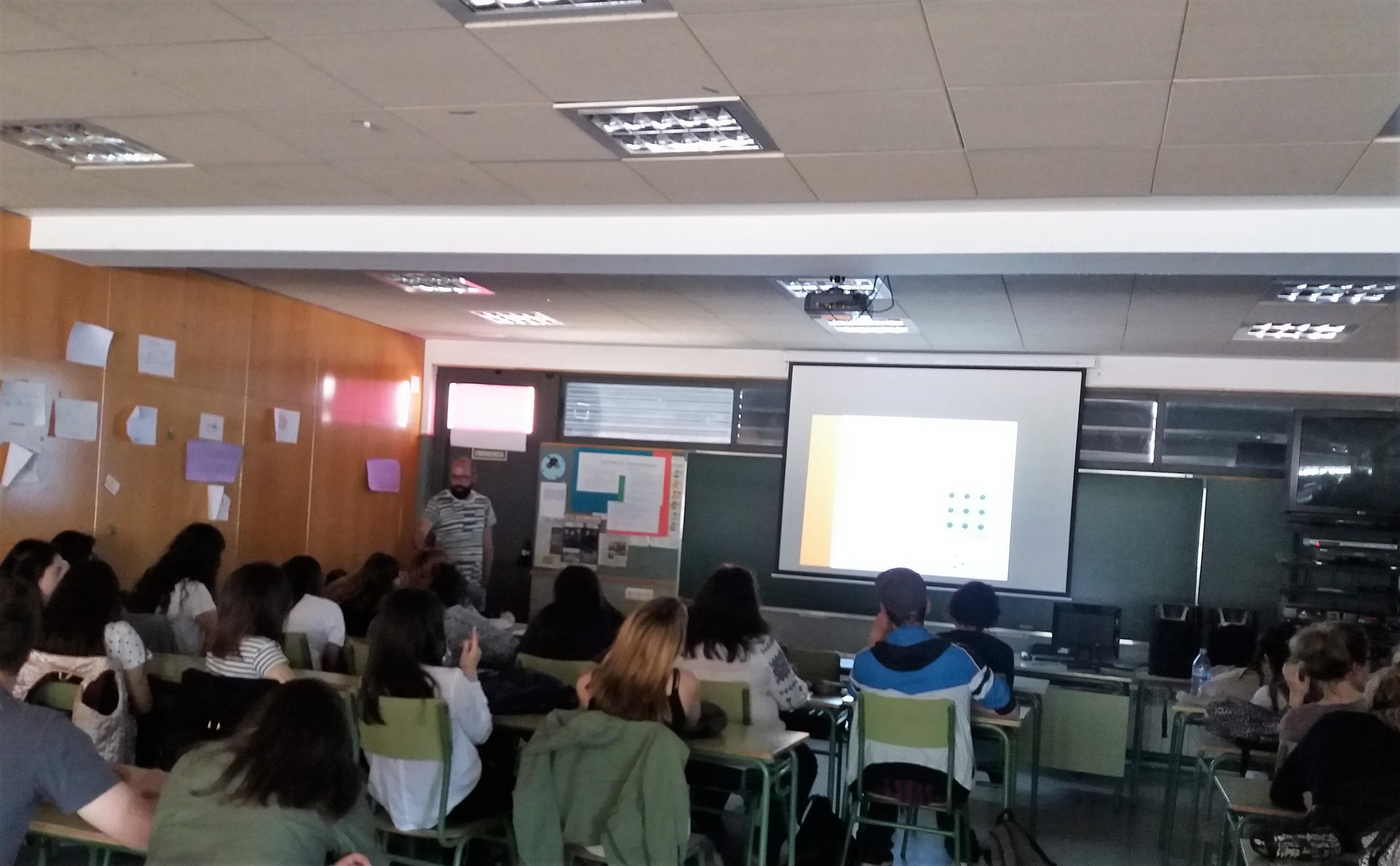 Foto de archivo de una de las formaciones impartidas por El Puente Salud Mental Valladolid
